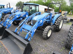 Tractor For Sale:  2006 New Holland TC55DA , 55 HP