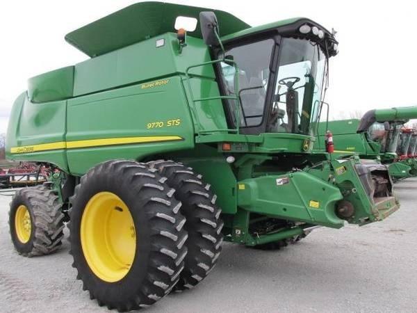 John Deere 9770 STS Combine For Sale