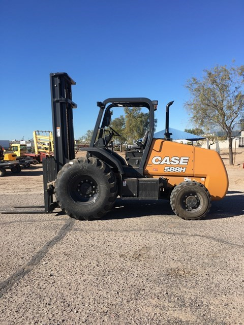 2019 Case 588H Lift Truck/Fork Lift-Rough Terrain