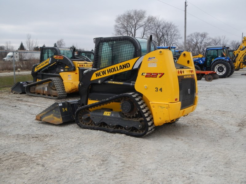 2017 New Holland C227 Skid Steer-Track For Sale