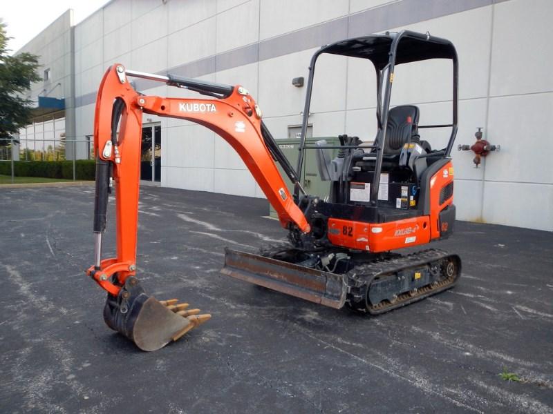 2018 Kubota KX018-4 Excavator-Mini