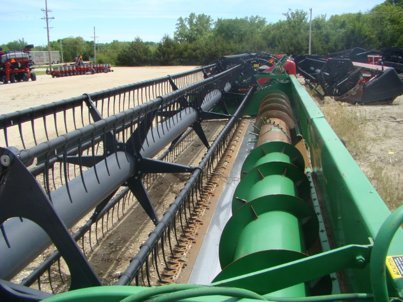1996 John Deere 900 25' Header-Auger/Flex For Sale