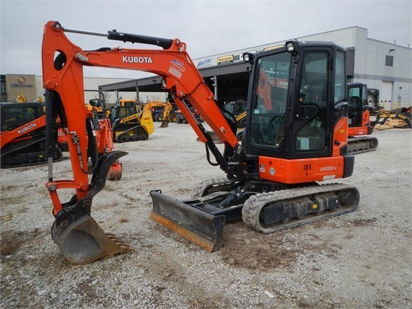 2017 Kubota KX033-4 Excavator-Mini