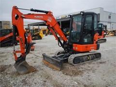 Excavator-Mini  2017 Kubota KX033-4
