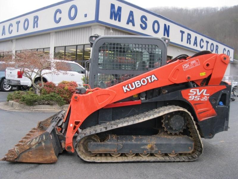 2017 Kubota SVL95-2SHFC Skid Steer-Track For Sale