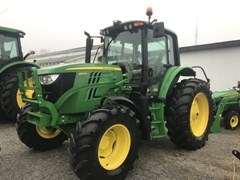 Tractor For Sale 2018 John Deere 6110M , 110 HP