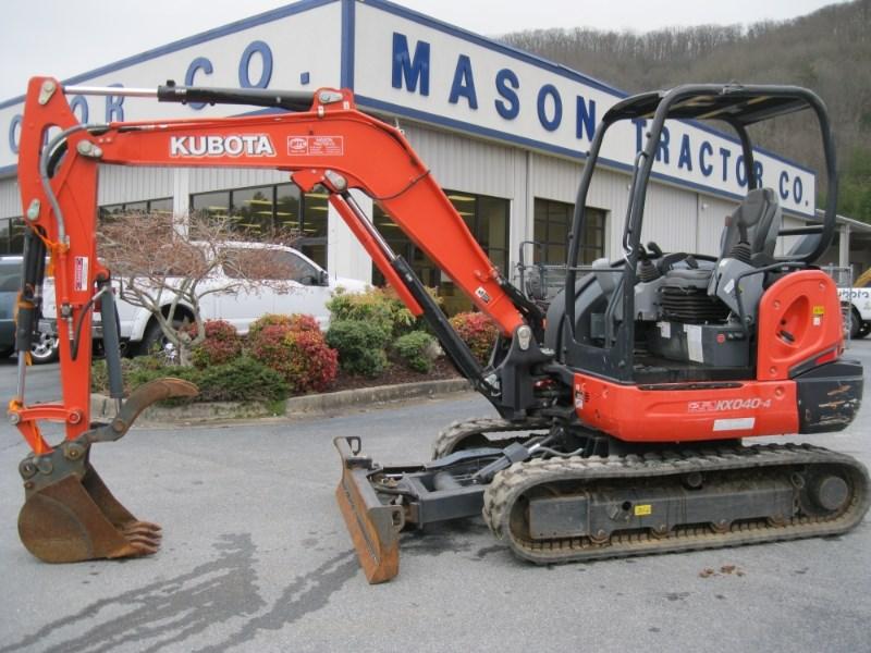 Kubota KX040-4R1A Excavator-Mini For Sale