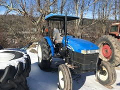 Tractor For Sale New Holland Workmaster 75