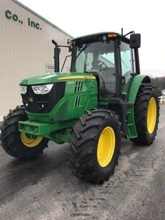 Tractor For Sale 2018 John Deere 6120M , 120 HP