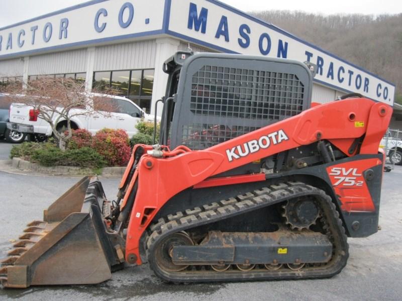 2014 Kubota SVL75-2HWC Skid Steer-Track For Sale