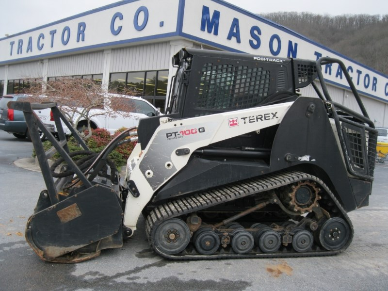 2012 Terex PT-100G Mulcher For Sale