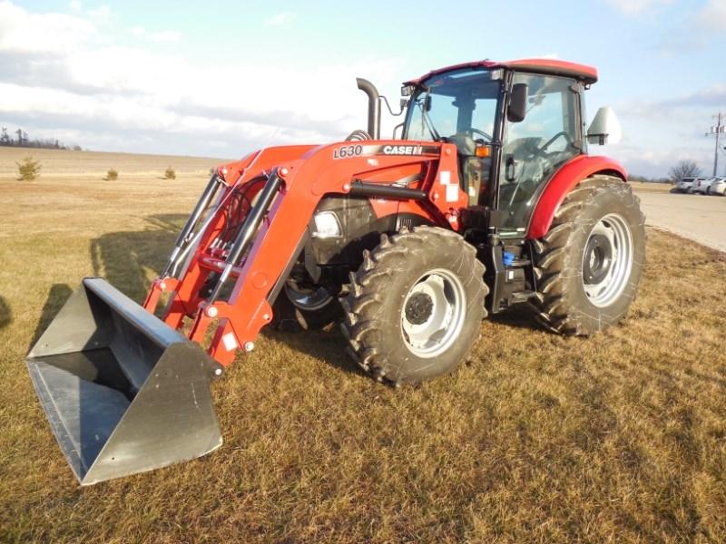 2016 Case IH FARMALL 100C Tractor For Sale