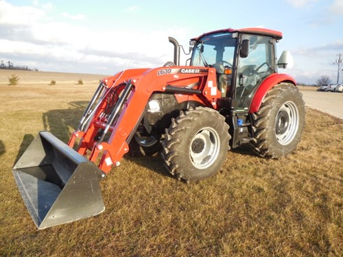 Tractor For Sale:  2016 Case IH FARMALL 100C , 100 HP