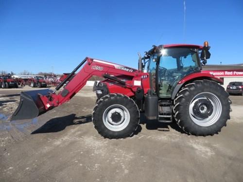 Tractor For Sale:  2009 Case IH MAXXUM 125 , 125 HP