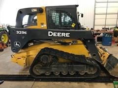 Skid Steer-Track For Sale 2015 John Deere 329E