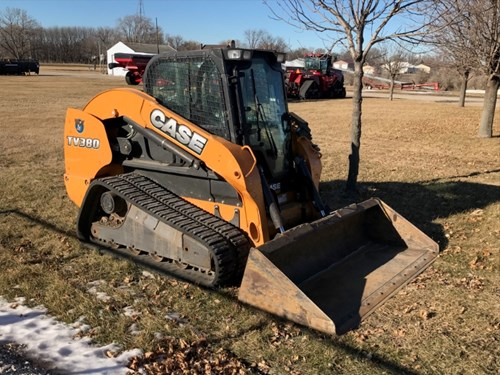 Skid Steer-Track For Sale:  2014 Case TV380