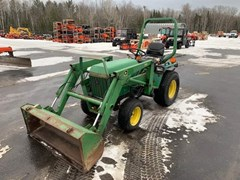 Tractor For Sale:   John Deere 755 , 20 HP