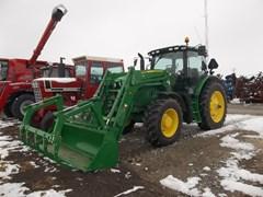 Tractor For Sale 2018 John Deere 6155R , 121 HP