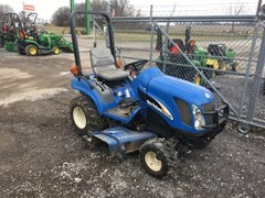 Tractor For Sale 2004 New Holland TZ24DA , 24 HP