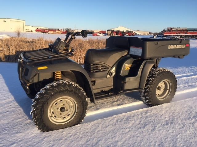 2004 Bombardier 2004 TRAXTER XL 500 GREEN ATV For Sale