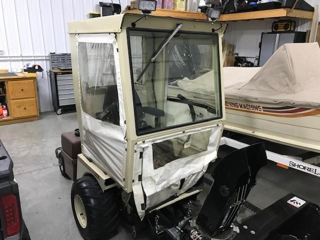2009 Grasshopper WInter Cab  Attachment For Sale