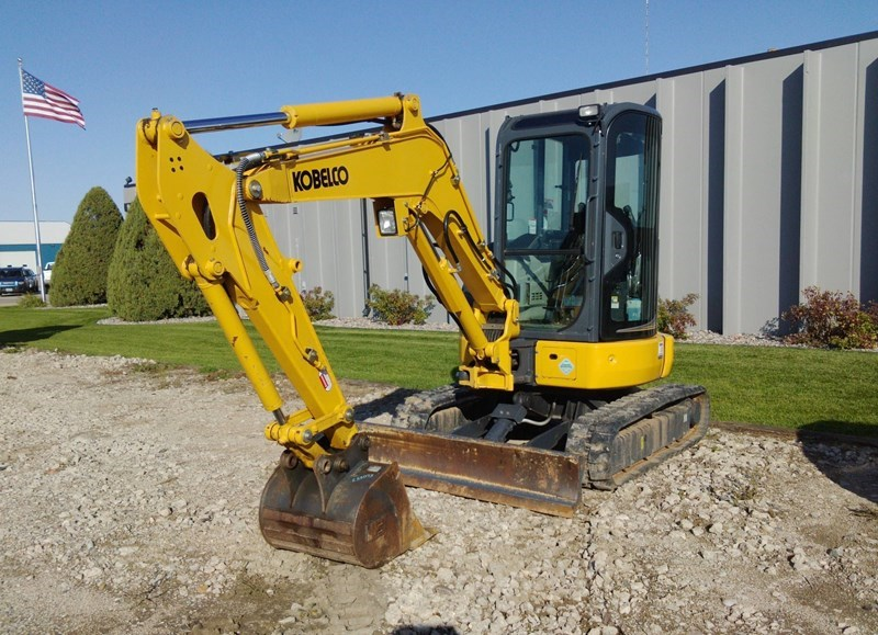 2016 Kobelco SK35SR-6E Excavator Mini For Sale