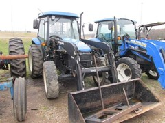 Tractor For Sale 2007 New Holland TD80D , 62 HP