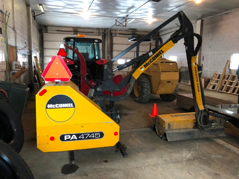 2012 McConnel PA4745 Boom Mower For Sale