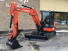 Excavator-Mini For Sale:  2016 Kubota KX040-4R3A , 40 HP