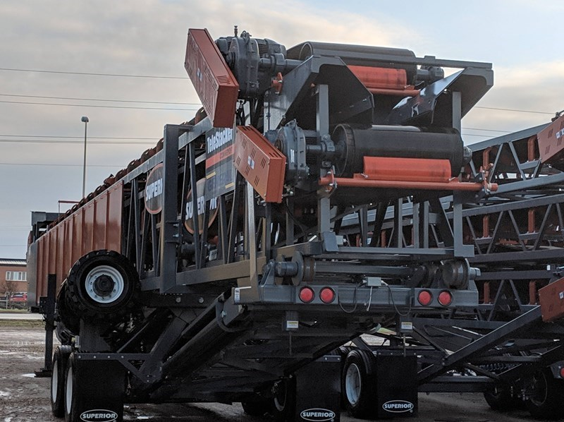 2018 Superior 36X150TSFD Conveyor - Stacking For Sale