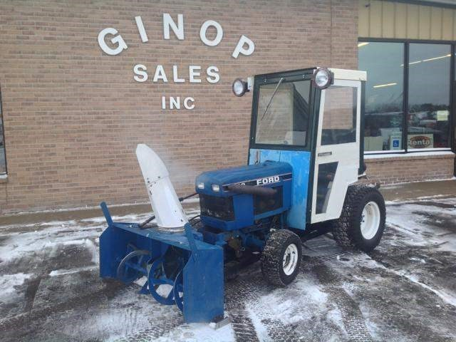 1989 Ford 1220 Tractor For Sale