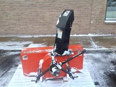 Snow Blower For Sale:  2004 Kubota B2781