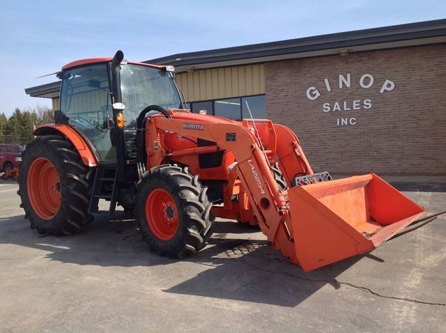 2013 Kubota M135GXDTCF Tractor For Sale