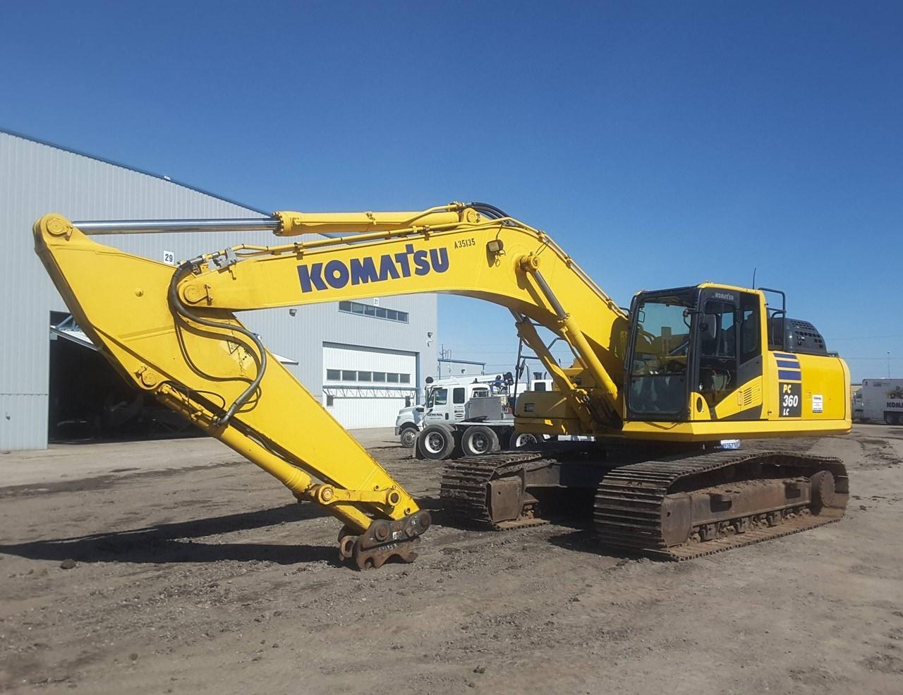 2015 Komatsu PC360LC-11 Excavator For Sale