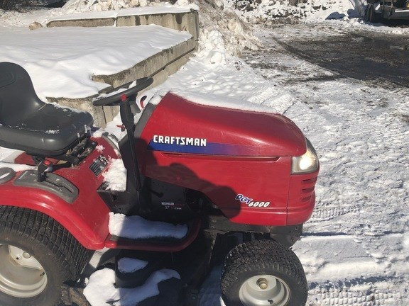 2003 Craftsman DGT6000 Riding Mower For Sale
