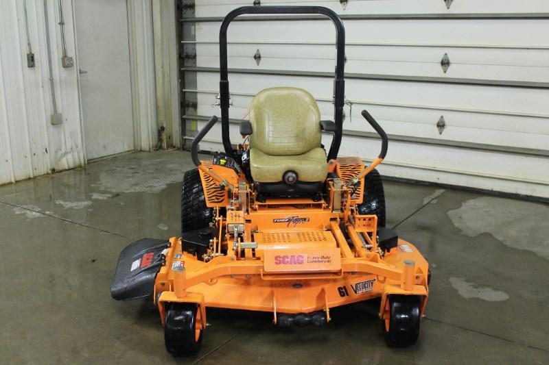 2018 Scag STTII-61V-26EFI Zero Turn Mower For Sale