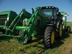 Tractor For Sale 2018 John Deere 6155R , 155 HP