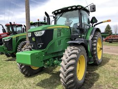 Tractor - Row Crop For Sale 2018 John Deere 6175R , 175 HP