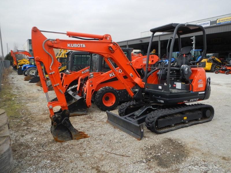 2018 Kubota KX71-3 Excavator-Mini