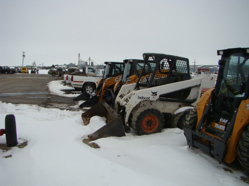 2000 Bob-Cat 863 Skid Steer For Sale