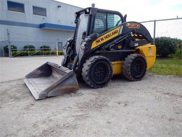 2012 New Holland L230 Skid Steer For Sale