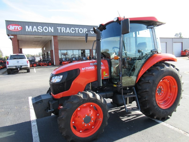 2016 Kubota M7060HDC Tractor For Sale