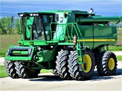 Combine For Sale 2009 John Deere 9870 STS