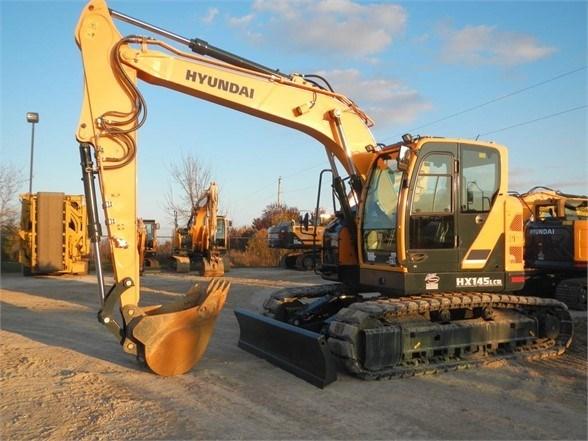 2017 Hyundai HX145 LCR Excavator-Track For Sale