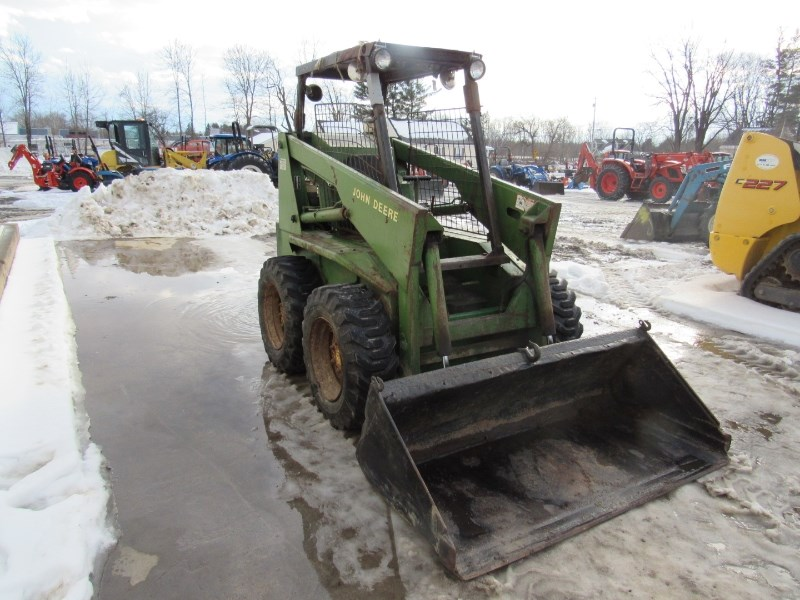 John Deere L125H Skid Steer For Sale