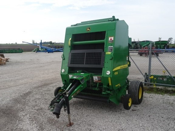 2008 John Deere 458 Silage Special Baler-Round For Sale at