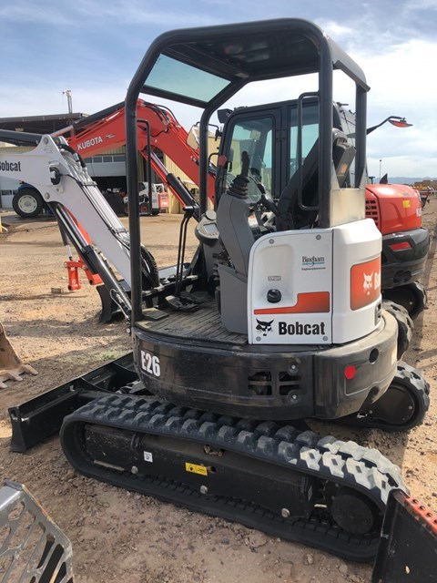 Bobcat E26 T4 Excavator-Track