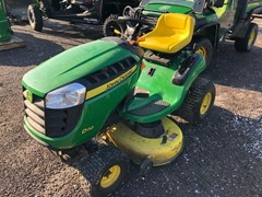 Riding Mower For Sale 2014 John Deere D110 , 19 HP