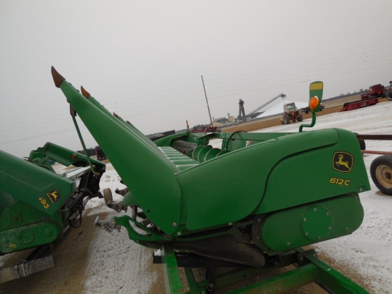 2010 John Deere 612C Header-Corn For Sale
