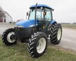 Tractor For Sale2007 New Holland TD95D, 95 HP